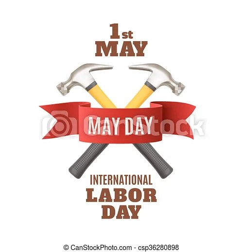 May 1st labor day background template May day may 1st labor day - labour day flyer template
