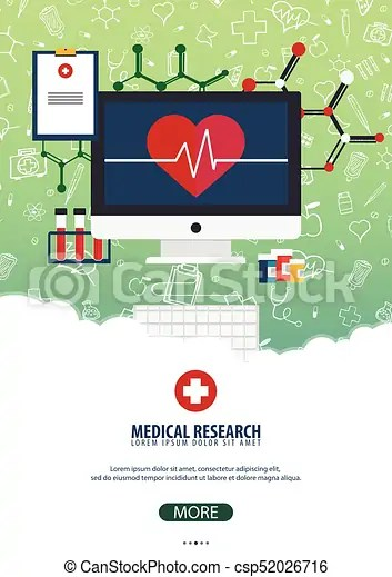 Medical research medical poster health care vector medicine