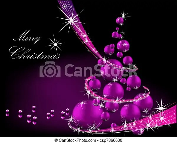 Merry christmas background silver and violet