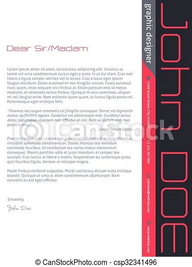 Modern cover letter cv resume in pink gray colors Modern cover