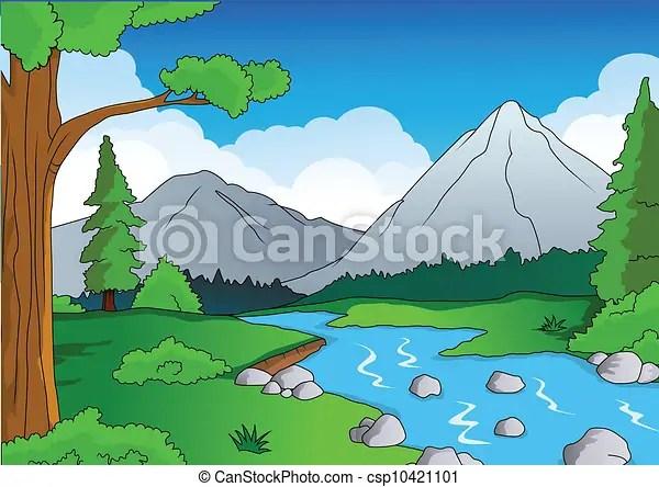 Nechar Wallpaper 3d Nature Forest Background