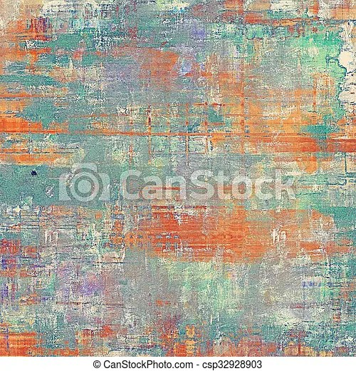 Old abstract grunge background, aged retro texture with different