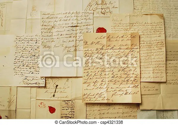 Old letters horizontal background type picture pictures - Search - horizontal writing paper
