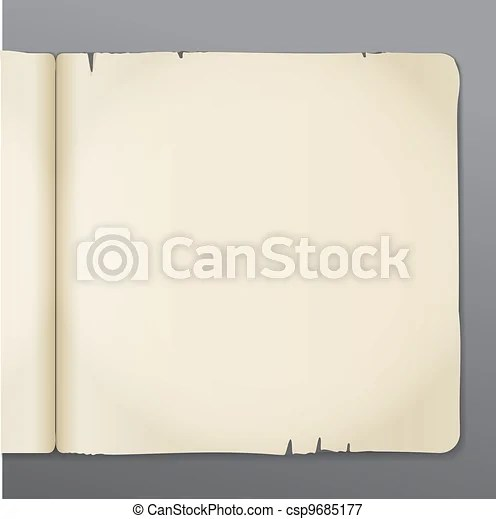Old opened book pages background ready for the text vectors - opened book