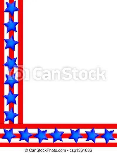 Free Clipart Patriotic Frames - Awesome Graphic Library \u2022