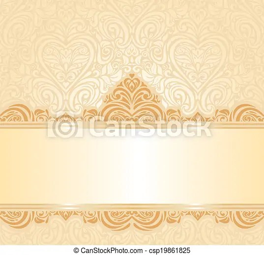 Peach invitation background Gentle peach wedding invitation floral