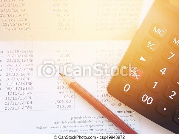 Business, finance, savings or mortgage background concept ; pen