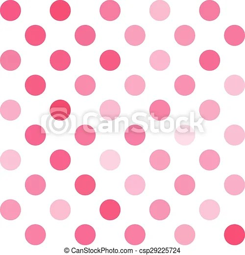 Pink polka dots background, creative design templates