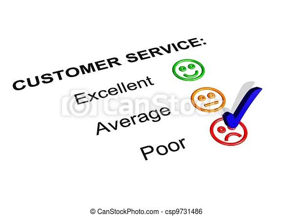 Poor customer service rating Customer service feedback form - service feedback form