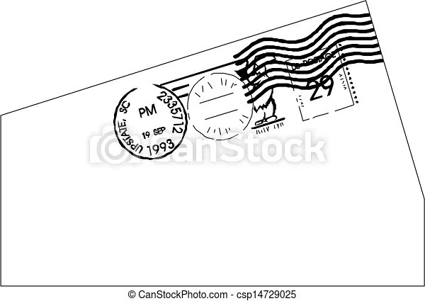 Post stamp template  - stamp template