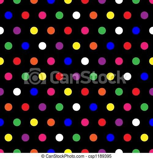 Black And White Polka Dot Wallpaper Border Rainbow Polka Dots Illustration Of Small Rainbow Colored