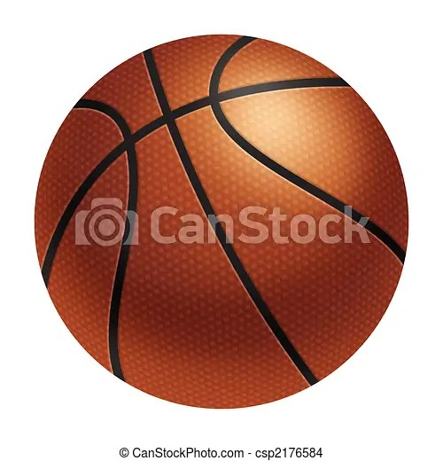 drawing of basketball - Goalblockety