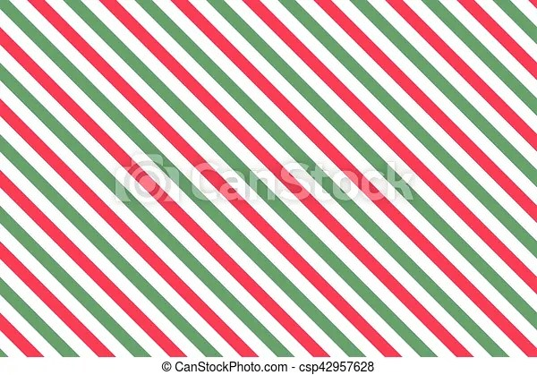 Red-green stripes on white background striped diagonal pattern blue