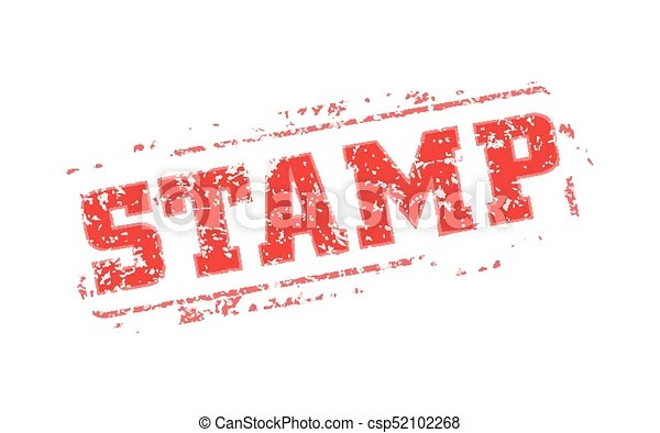 Rubber stamp template Easy edited template rubber stamp clip - stamp template