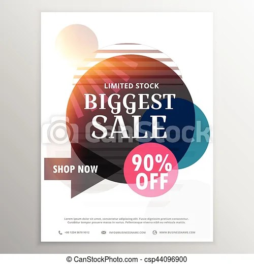 Sale and discount voucher design - discount voucher design
