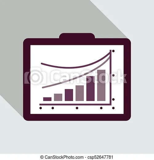 Schedule chart on table vector economic visualization information - schedule graph