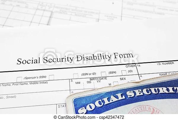 Social security disability form Social security disability - social security disability form