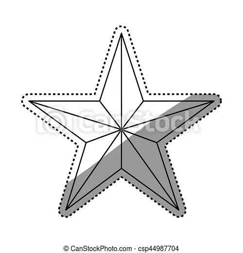 Star Award Clipart Black And White 45393 APPLESTORYweather, sunny