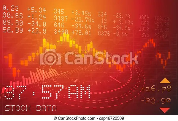 Stock market analysis abstract as jpg file