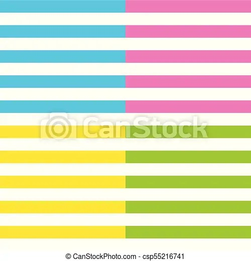 Stripes vector background with horizontal lines striped set