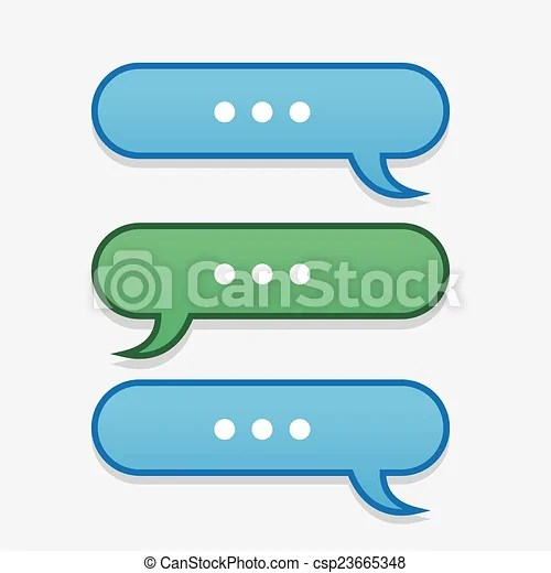 Text message bubbles back and forth Text messages bubbles eps - cool text message art