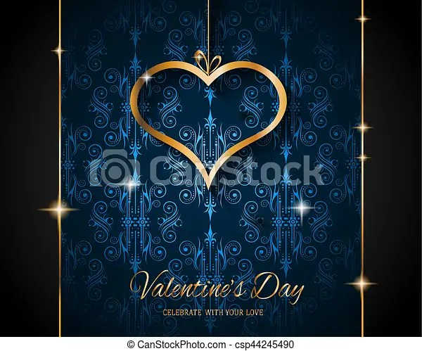Valentine\u0027s day restaurant menu template background for stock - valentines day menu template