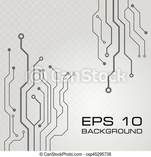 Vector circuit board design background Vector circuit board vector