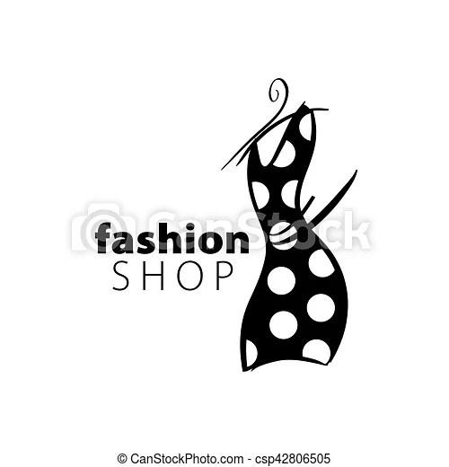 Vector logo fashion Template design logo fashion vector