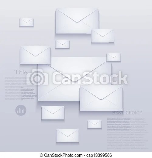 Vector mail background eps10 - mail background