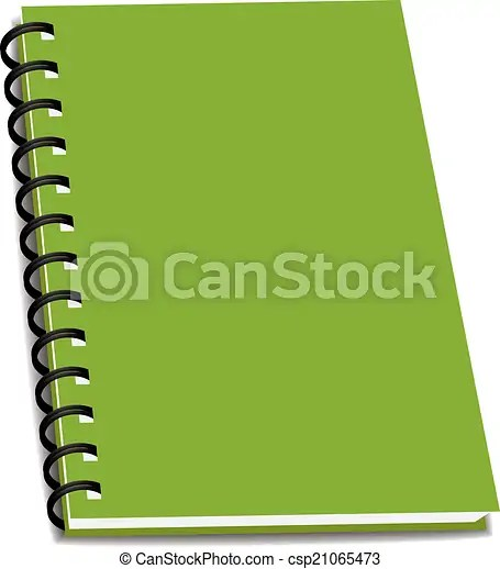 Vector stack of ring binder book or notebook isolated vectors - notebook binder