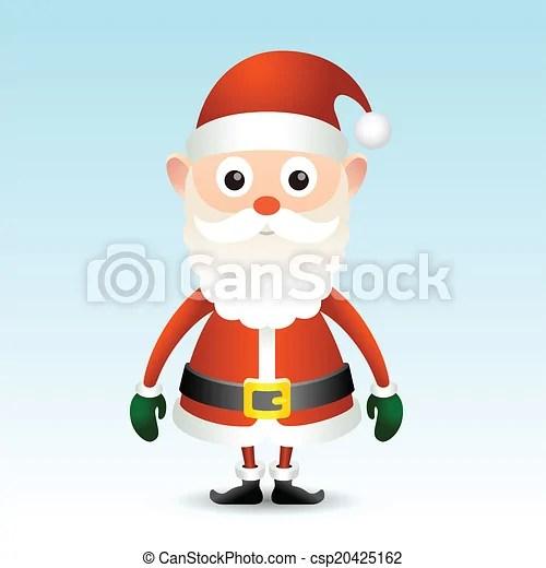Vintage santa claus illustration for your design clip art vector
