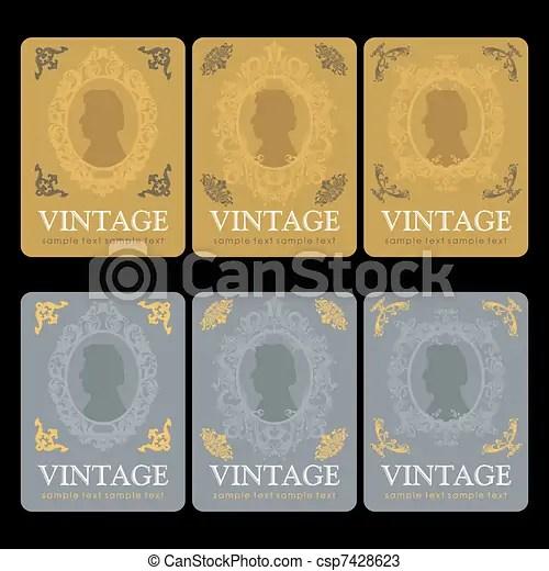 Vintage wine labels design template - free wine label design