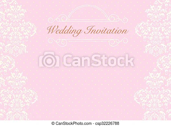 Wedding-invitation-background-1 The design of light pink wedding