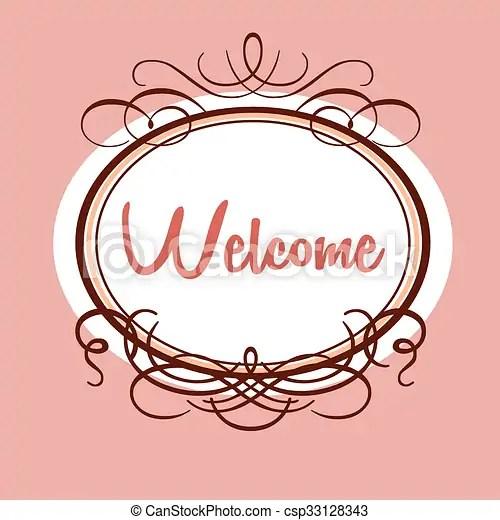 Welcome invitation template Welcome - design template invitation