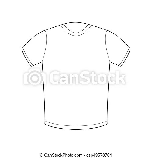 White t-shirt template isolated sport clothing on white background