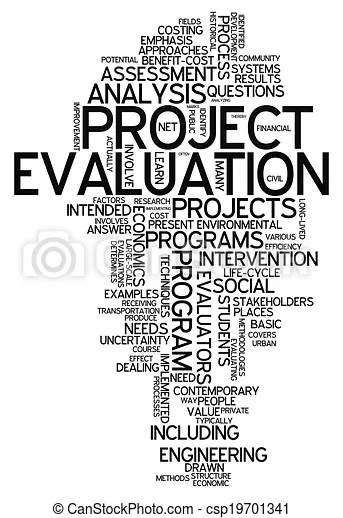 Word cloud project evaluation Word cloud with project drawing
