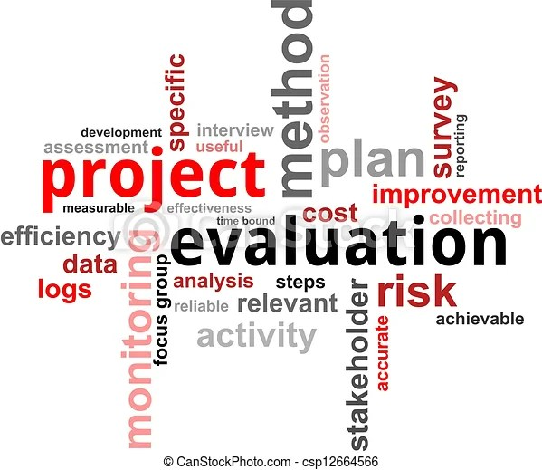 Word cloud - project evaluation A word cloud of project evaluation - project evaluation