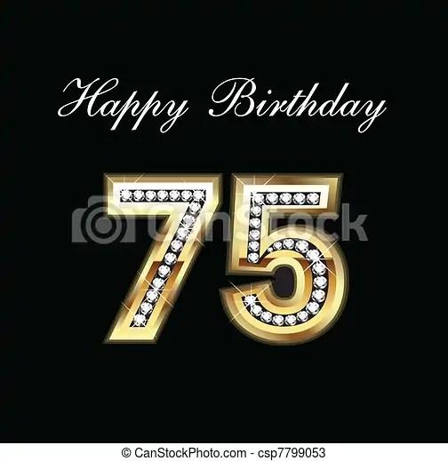Happy Birthday Mom Quotes Wallpapers Vectores De 75 Cumplea 241 Os Feliz Feliz Cumplea 241 Os 75