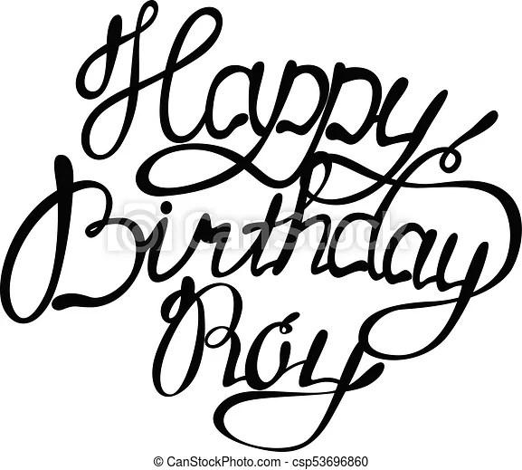 Letras, feliz cumpleaños, nombre, roy Letras, nombre, cumpleaños