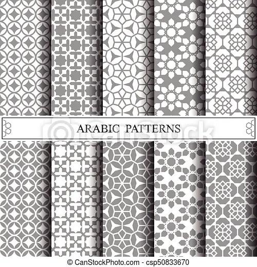 Arabic vector pattern,pattern fills, web page vectors