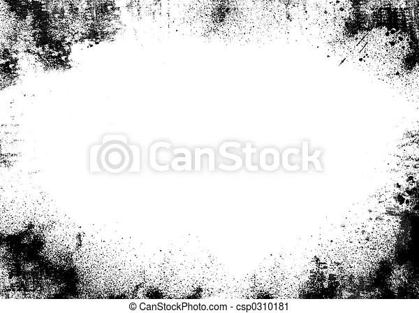 Black border grunge background clipart - Search Illustration - black border background