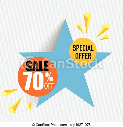 Sale label price tag template design vector illustration - sale tag template