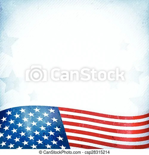 Usa patriotic background with stars and stripes Us american