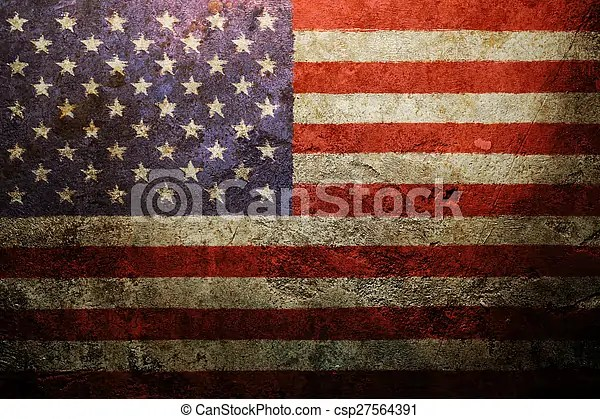 Worn vintage american flag background stock photographs - Search