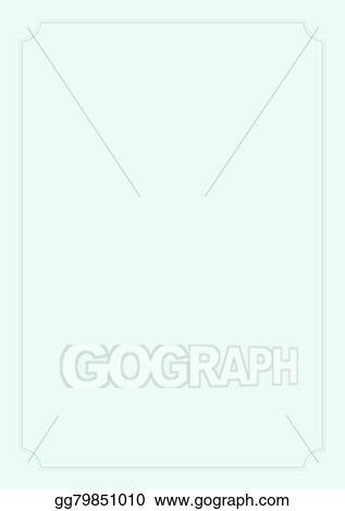 Stock Illustration - A4 size mint green paper background with