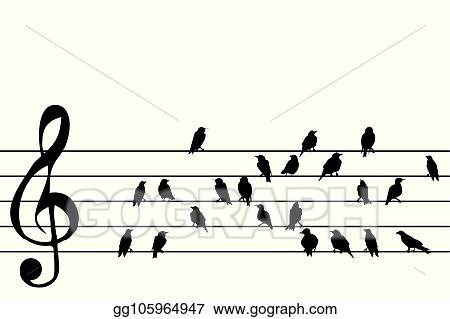 music stave - Pinarkubkireklamowe
