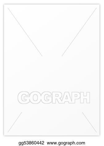 Stock Illustration - Blank sheet paper Clipart Illustrations - blank sheet of paper with lines