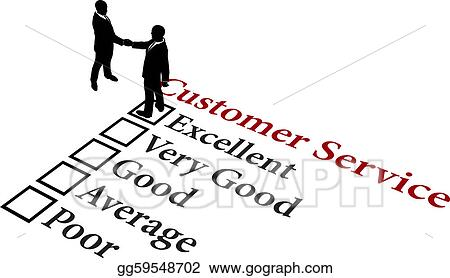 Vector Stock - Business relationship excellent customer service