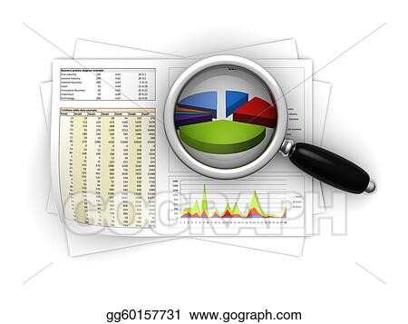 Stock Illustrations - Business reports Stock Clipart gg60157731