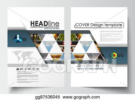 EPS Illustration - Business templates for brochure, magazine, flyer